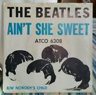 The Beatles Original Picture Sleeve Ain't She Sweet Atco 6308  Nicer!, thumbnail_release224_141882517876.jpg