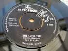 The Beatles SHE LOVES YOU 1963 UK 1st Press MINT MINUS - LISTEN, thumbnail_release266_332305963604.jpg