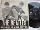 BEATLES 7'' Single  She Loves You/ I'll Get You-- Denmark R 5055  Unique Cover, thumbnail_release266_352382353316.jpg