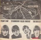 THE BEATLES 'PENNY LANE' DENMARK ULTRA RARE MAP PS 45, thumbnail_release276_162557908096.jpg