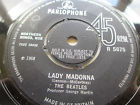 "The Beatles - Lady Madonna / The Inner Light 7"" SINGLE ORIG 68' Parlophone EX-, thumbnail_release279_262296813108.jpg"