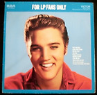 Elvis Presley / For LP Fans Only / VVG / RCA LSP-1990(e) released 1959 / GREAT!!, thumbnail_release75_260867336859.jpg