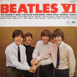 frontcover of Beatles VI