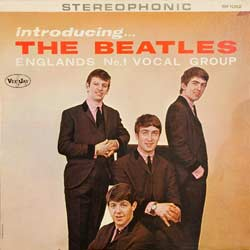 frontcover of introducing the beatles
