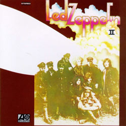 frontcover of Led Zeppelin II (USA)