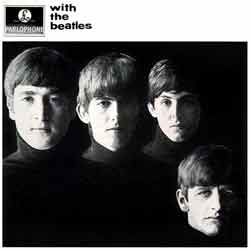 frontcover of With The Beatles
