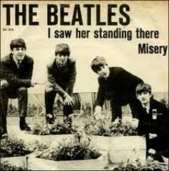 Beatles, I saw her standing there
